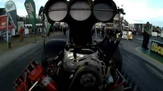 On-board video footage - Martin Stamatis and JRR win the 2009-2010 Australian Top Fuel Championship