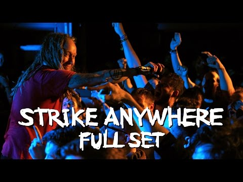 Strike Anywhere - FULL SET - LIVE at Manchester Punk Festival 2017