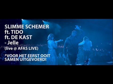 SLIMME SCHEMER FT. TIDO FT. DE KAST - JELLE (LIVE @ AFAS LIVE)