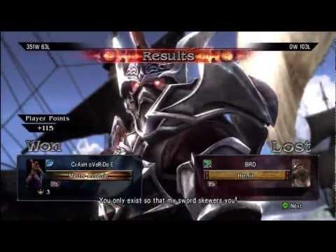 Soul Calibur 5 - Rank up fast - Tutorial
