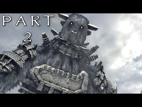 SHADOW OF THE COLOSSUS PS4 REMAKE Walkthrough Gameplay Part 2 - Gaius