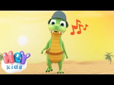 Ay Los Cocodrilos cancion infantil - Y muchas más canciones infantiles  - HeyKids