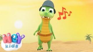 Ay Los Cocodrilos cancion infantil - Y muchas más canciones infantiles  - HeyKids thumbnail