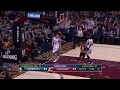 Lebron makes the steal and finishes with a thunderous dunk January 31, 2017