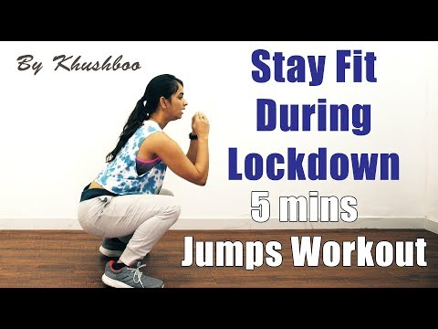 Jumps Workout For Girls | How to Lose Belly Fat | Lose Weight Home Exercises | Pebbles Hindi