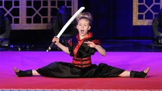 An Incredible Karate Kid(Ten-year-old Jesse Jane McParland brought her amazing martial arts skills to Ellen's show, all the way from Ireland. Watch her sharp moves right here!, 2015-11-18T14:00:01.000Z)
