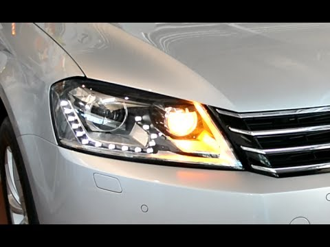 2014 new vw passat variant led xenon facelift front. Black Bedroom Furniture Sets. Home Design Ideas