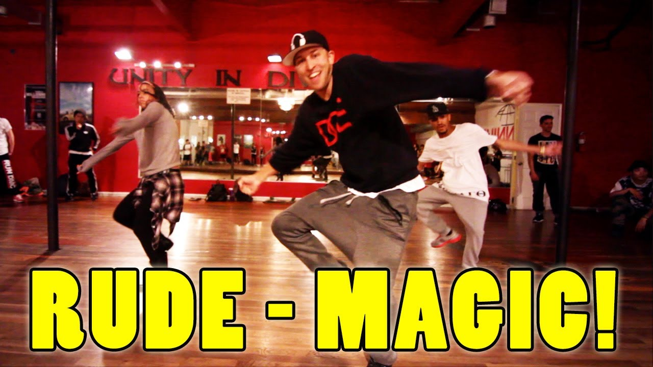 RUDE - MAGIC Dance Video   @MattSteffanina Choreography ...