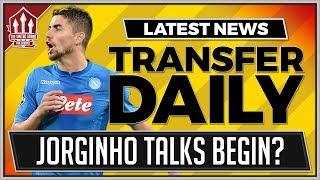 JORGINHO or VIDAL To MAN UNITED? MAN UTD Transfer News