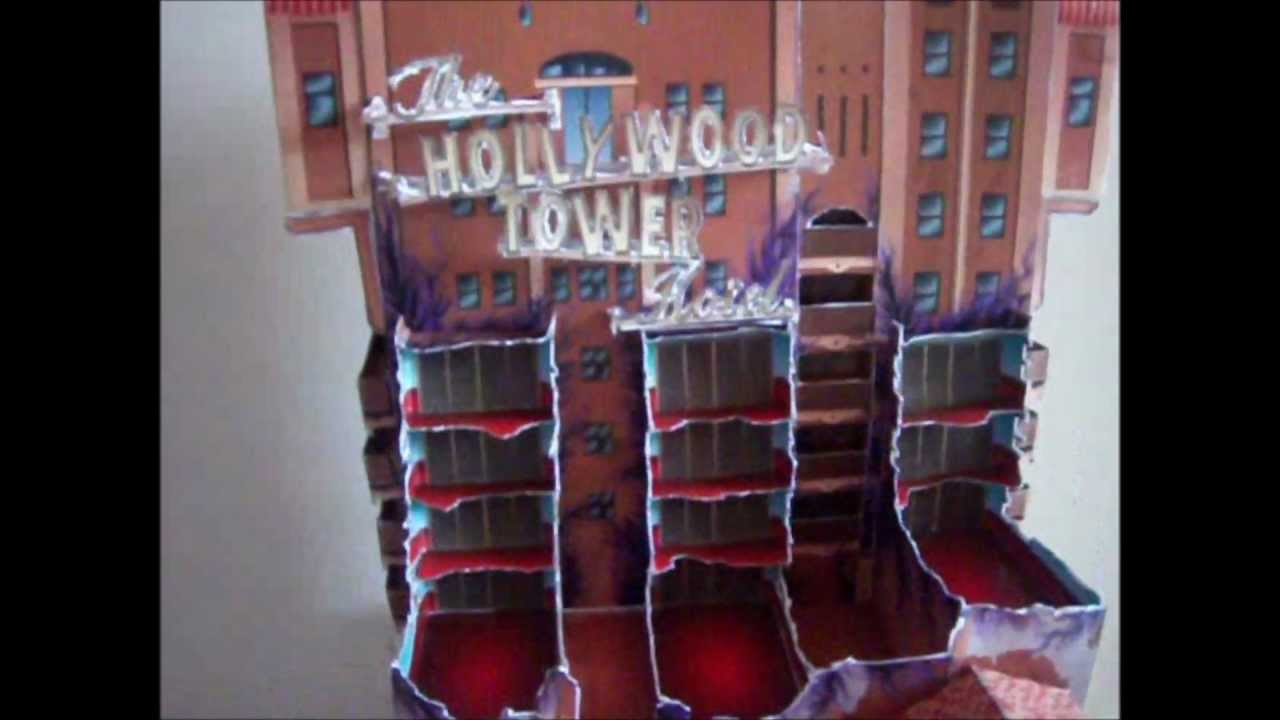 Papercraft The Twilight Zone Tower of Terror Paper Model