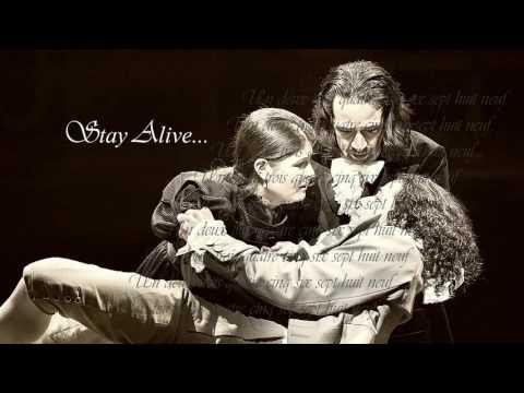 Stay Alive+Reprise/un deux trois quatre cinq six sept huit neuf