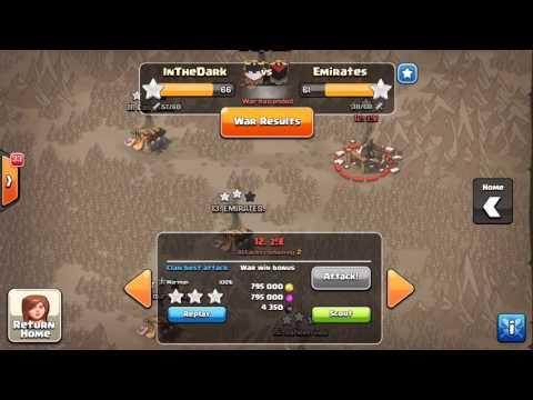 ELITE WAR   InTheDark vs Emirates   INSANE TH11 ATTACKS 3 Stars on Th11's
