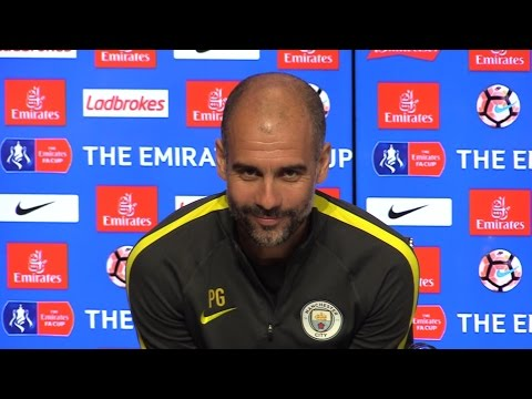 Pep Guardiola Full Pre-Match Press Conference - Manchester City v Huddersfield Town - FA Cup Replay