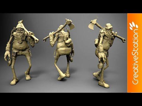 W.I.P - 3D Speed art (#3D-Coat, #Keyshot) | CreativeStation