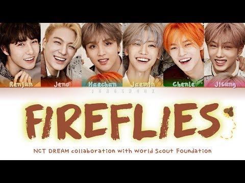 NCT DREAM (엔시티 드림)- Fireflies [English Color Coded Lyrics]