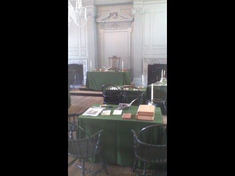 Independence Hall Tour, Philadelphia, Pennsylvania