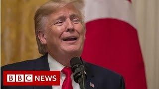 Trump: I didn't watch 'sham' impeachment hearings - BBC News
