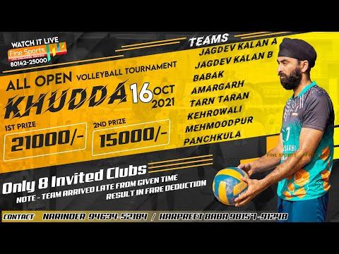 All Open Volleyball Tournament Khudda (hsp)    16 Oct 2021    @fine Sports  Sports