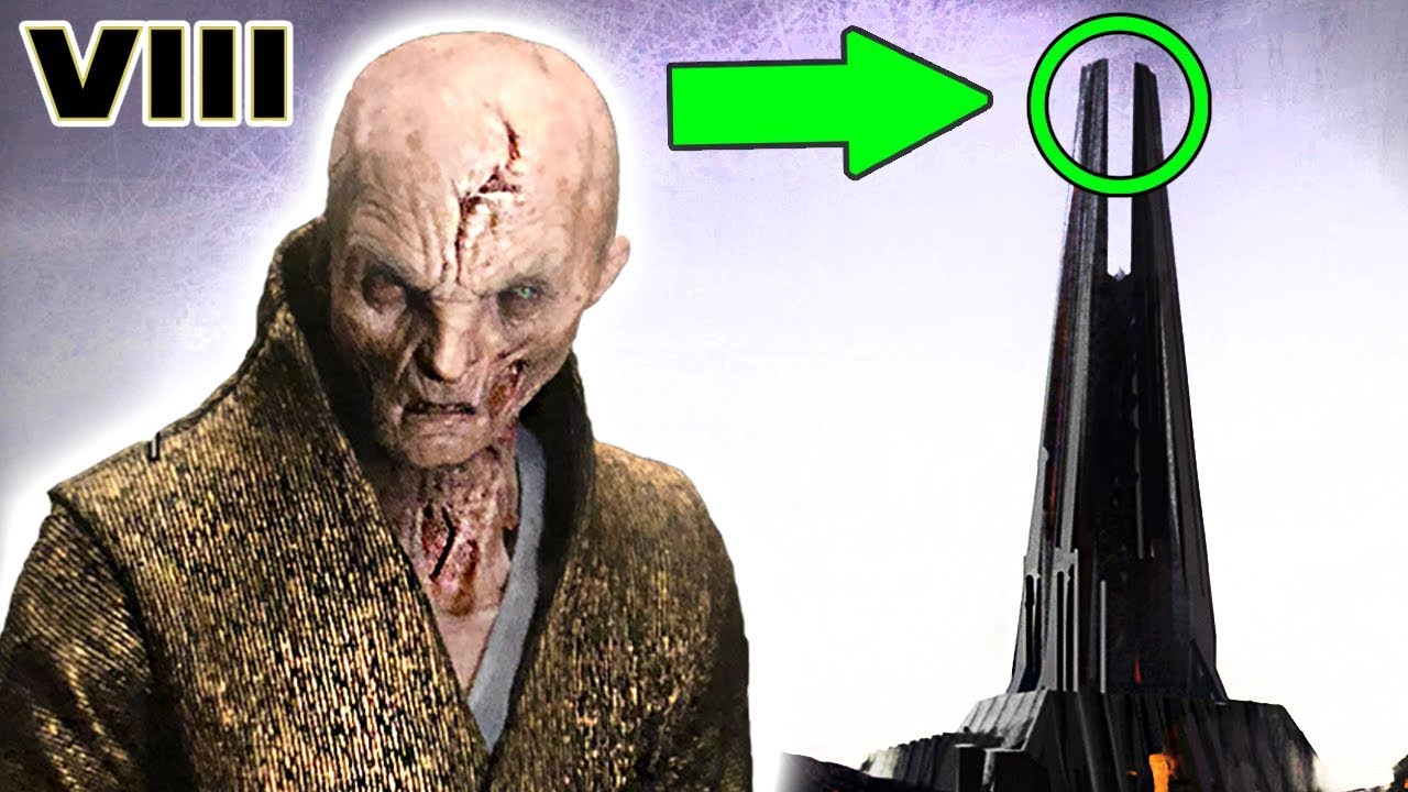 How SNOKE Went to Darth Vader\'s Castle and MUSTAFAR - Star Wars ...