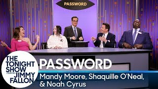 Password with Mandy Moore, Shaquille O'Neal and Noah Cyrus