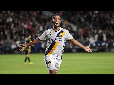 GOAL! Giovani dos Santos scores with another gorgeous chip