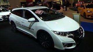 Honda Civic Tourer Active Life Concept 2016 Videos