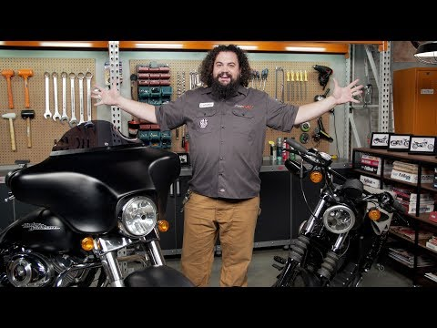 Thumbnail for How To Choose Handlebars & Risers For Harley-Davidson Motorcycles