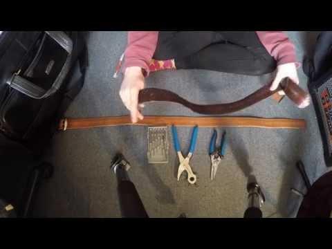 Make Do DIY : Leather Strap