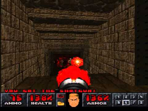 PSX Final Doom - Level 13: Vesperas |