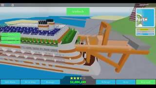 Unreleased Albatross Class Ship (Cruise Ship Tycoon Roblox)