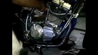 Modifikasi Engine Swap Motor Yamaha  RXs Blok silinder satria FU
