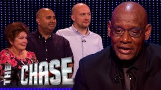 The Chase | Poppy, Arv and Andrew's £17,000 Final Chase Against The Dark Destroyer