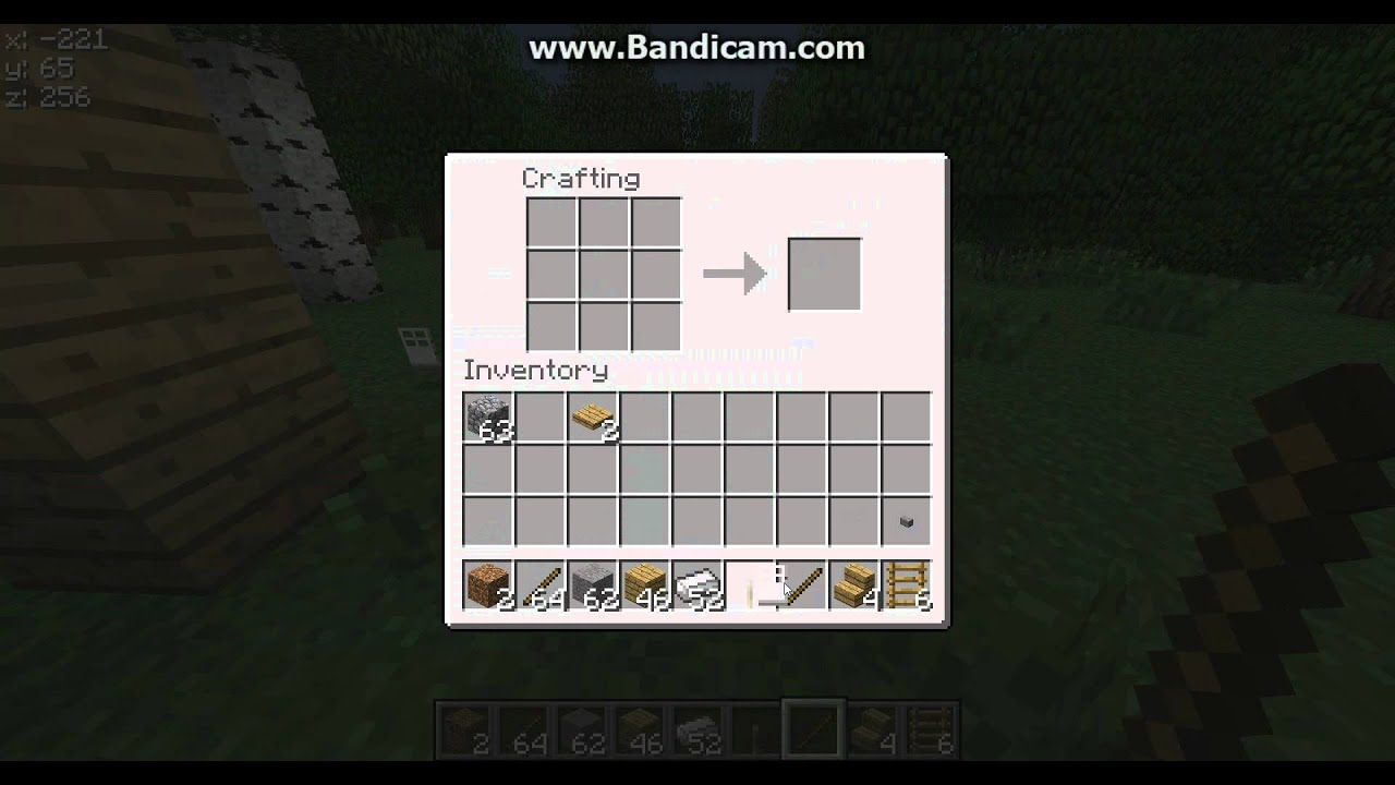 minecraft how to make lever button steel door and pressure