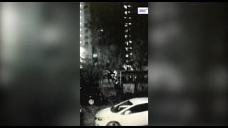 Смотреть видео Двойное убийство на севере Москвы попало на видео онлайн