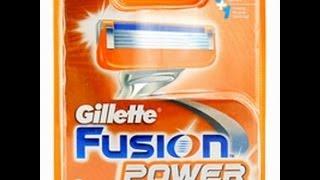 лезвия для бритья Gillette fusion power