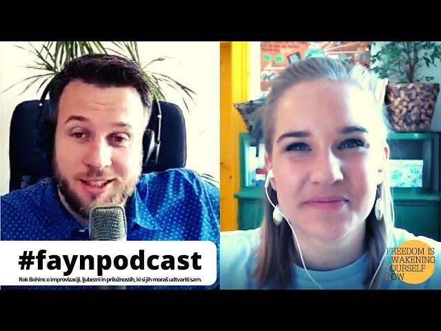 F.A.Y.N. Podcast z Majo Monrue: Rok Bohinc o tem, kako ne biti kreten in drugih modrostih življenja