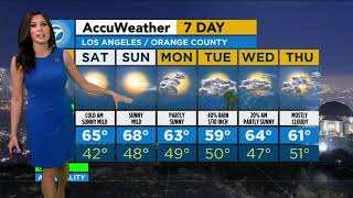 Cool temps, chance of mountain snow Friday in SoCal   ABC7