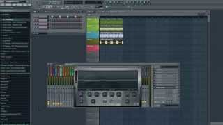 How to make Groups in Mixer - Sidechain Multiple Tracks - FL Studio Tutorial
