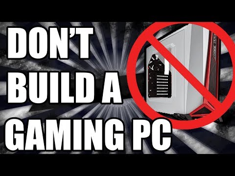 You SHOULDN'T Build a Gaming PC Right Now!