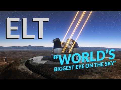 4KHDR | Building The LARGEST TELESCOPE On Earth [ESO ELT]