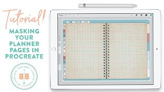 Masking Your Digital Planner Pages in Procreate