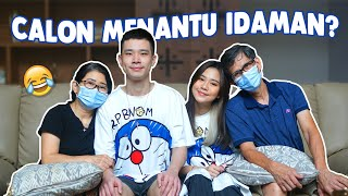 CALON MENANTU IDAMAN MAMA& PAPA! - Q&A WITH FAMILY