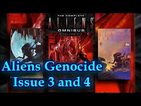 Aliens Genocide Comic Book Issue 3 and 4 of 4 Dark Horse comics