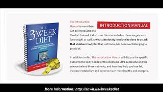 3 week diet - review truth on brian flatt