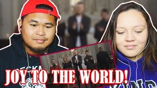 Joy To The World – Pentatonix [Official Video] REACTION 2017
