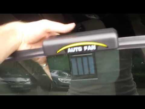 AUTOCOOL Car Cooler solar power
