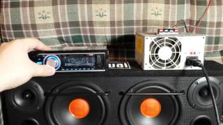 XD Vision XD107 Car Stereo Test, Review, And Teardown