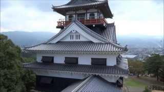 DJI F550 空撮 四国中央市 川之江城を空撮してみた! Aerial photographing.