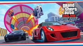 Трейлер обновления GTA Online «Лихачи и трюкачи: особые гонки»