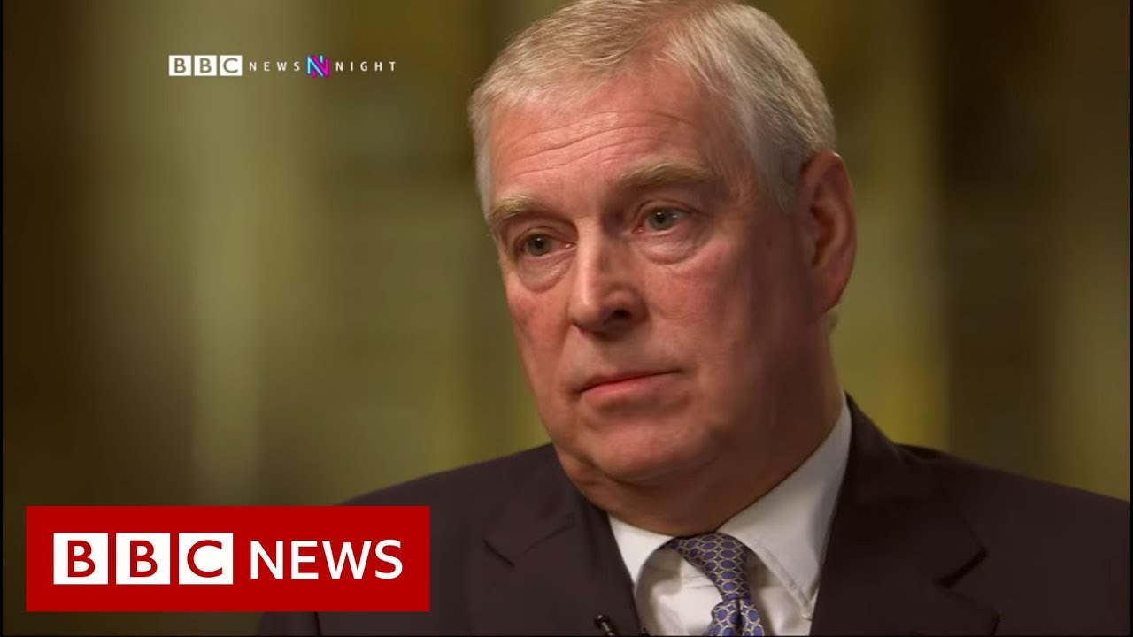 Prince Andrew The Epstein Scandal The Newsnight Interview Bbc